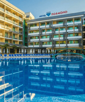 Diamond Hotel Sunny Beach 4* (kõik hinnas)