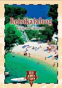 Reisieksperdi Reisikataloog 2008 kevad-sügis esikaas