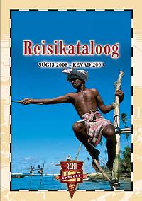 Reisieksperdi Reisikataloog 2008 sügis - 2009 kevad esikaas