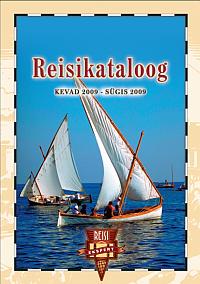 Reisieksperdi Reisikataloog 2009 kevad-sügis esikaas