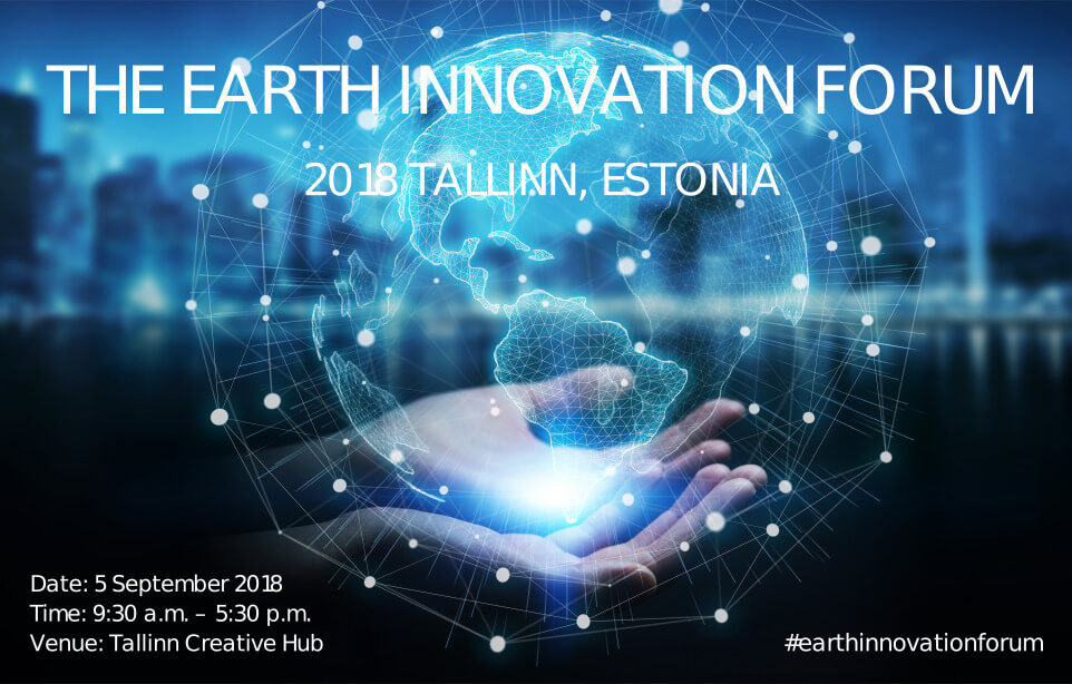 UNEA-4 Earth Innovation Forum - Tallinn 2018 - About the