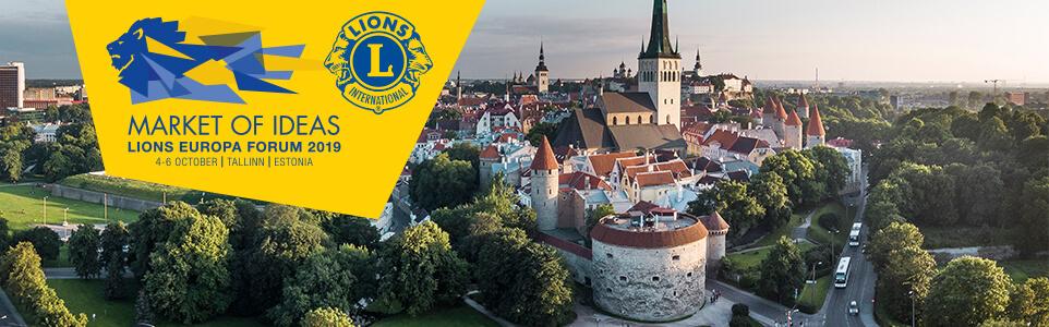d2c31bc083c Lions Europa Forum 2019 - Market of Ideas, 4 - 6 October, Tallinn, Estonia