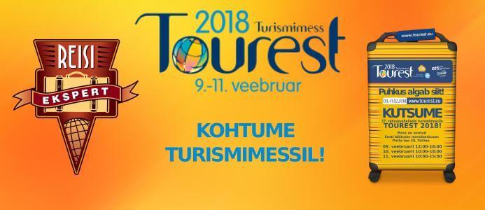 Tasuta kutse Tourest 2018 messile