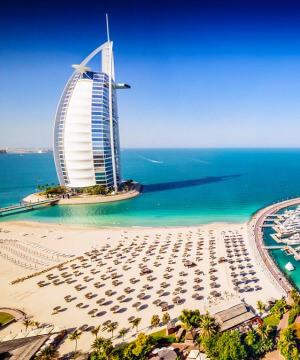 AÜE, Dubai ja Abu Dhabi