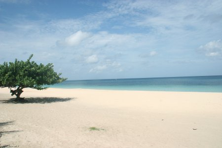 Grenada, St. George, Grande Anse merelaht ja rand