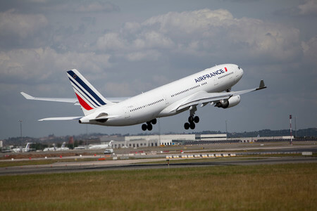 air france airbus a330 200 f gzcl takeoff
