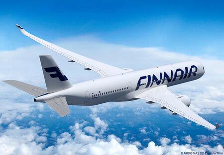 finnair airbus a350 xwb airborne