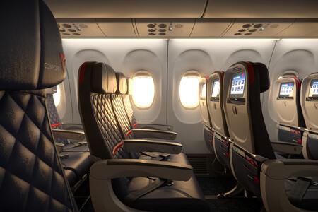 delta air lines boeing 737 900er comfort seat premium economy class
