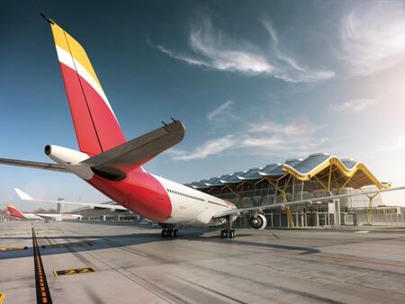iberia airbus a330 300 ec lyf at madrid airport
