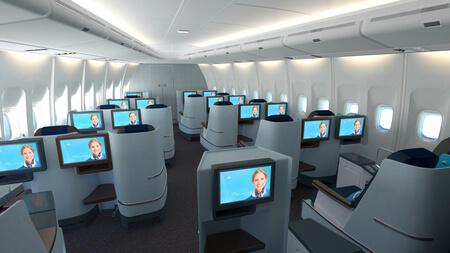 klm business class cabin 2015