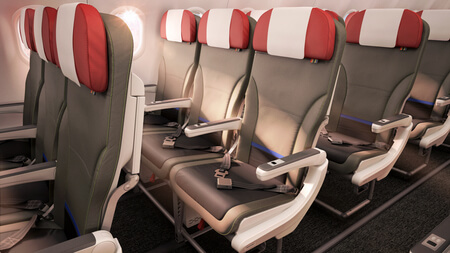 lan airlines airbus a320 tourist class cabin seats 2015
