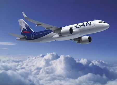 lan airlines airbus a320neo