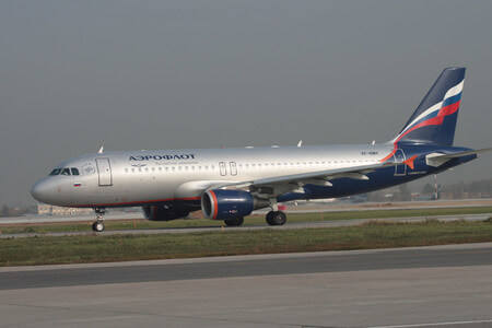 aeroflot airbus a320 200 vp bwh taxiway