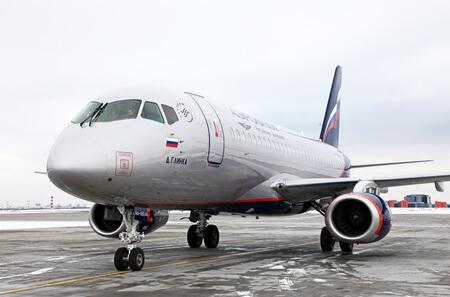 aeroflot sukhoi superjet 100 95 ra 89046