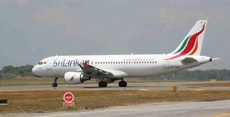 srilankan airlines airbus a320 200 4r abm